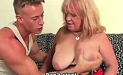 Big granny hungry