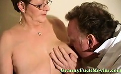 Doc examines horny granny
