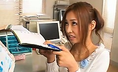 Japan Office Lady Gets Cum On Her Face