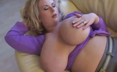 Amazing Big Tits Milf At Home