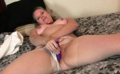 Mom's Pussy Gets So Wet In Pantyhose
