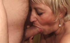 Some nasty blonde milf got fucked