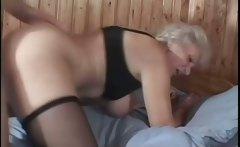 mature granny pussy poked