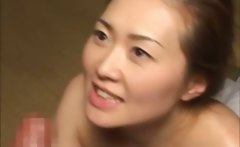 Oriental slut gets a perfect fit from his mature cock