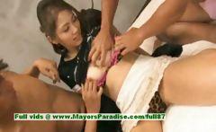 Iori Mizuki innocent japanese chick enjoys a threesome