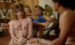 Vintage group sex with cock fucking and pussy fucking action