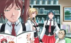 Awesome anime movie with sexy babes
