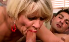 Mature Housewife Gets Some