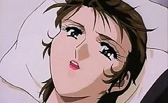 Anime babes licking their boobs