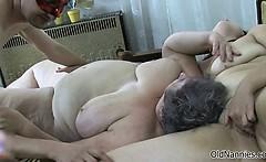 Nasty mature slut goes crazy